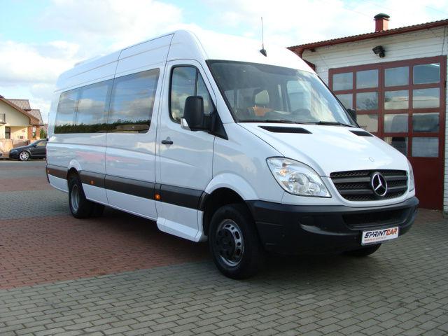 Бизнес план приобретения автобуса Mercedes-Benz Sprinter 515 и оказание услуг пассажироперевозок