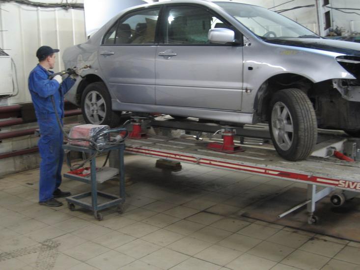 Бизнес план кузовного ремонта автомобилей