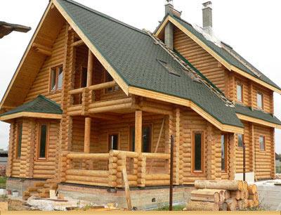 Проект концепции лесопользования производства деревянных домов заводского изготовления из оцилиндрованных бревен, клееного бруса и арболита