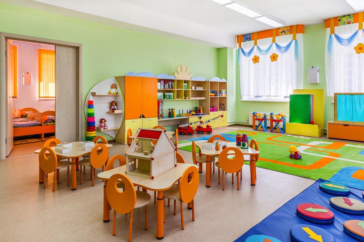 Детский сад для инвалидов открытие