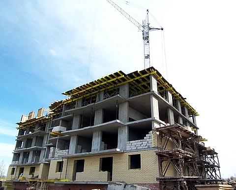 Завершение строительства жилой дом
